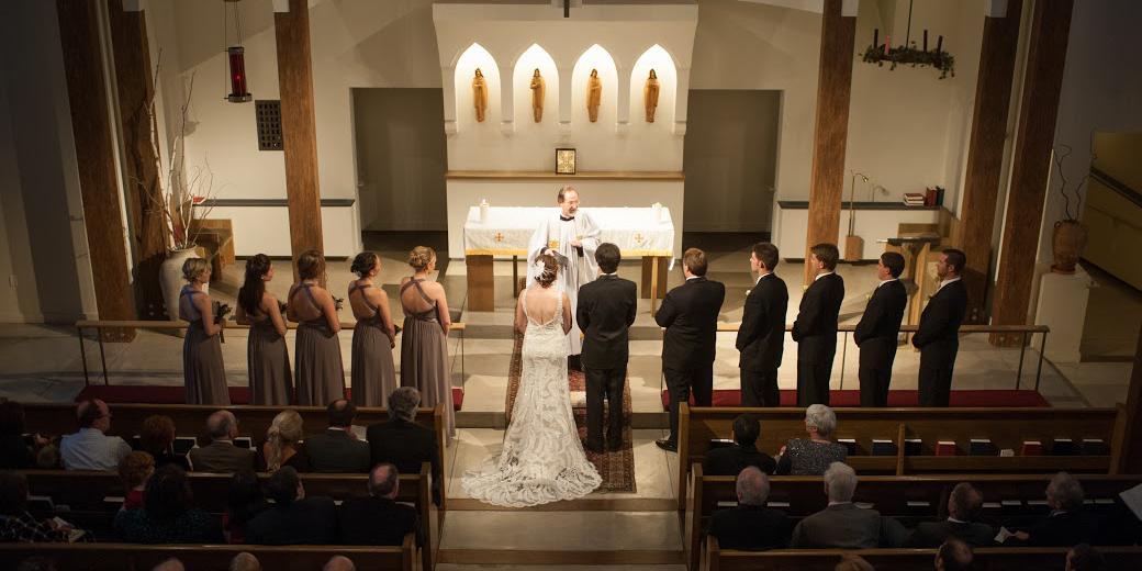 St. Paul's Episcopal Church wedding Boulder/Fort Collins