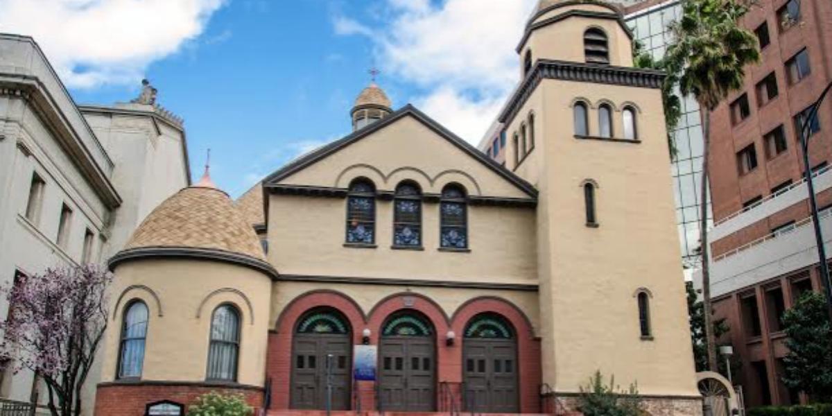 First Unitarian Church San Jose wedding South Bay