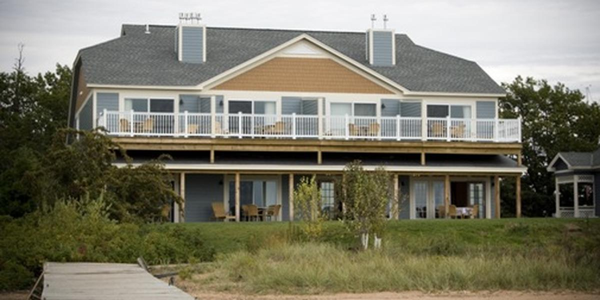 The Inn on Madeline Island wedding Eau Claire