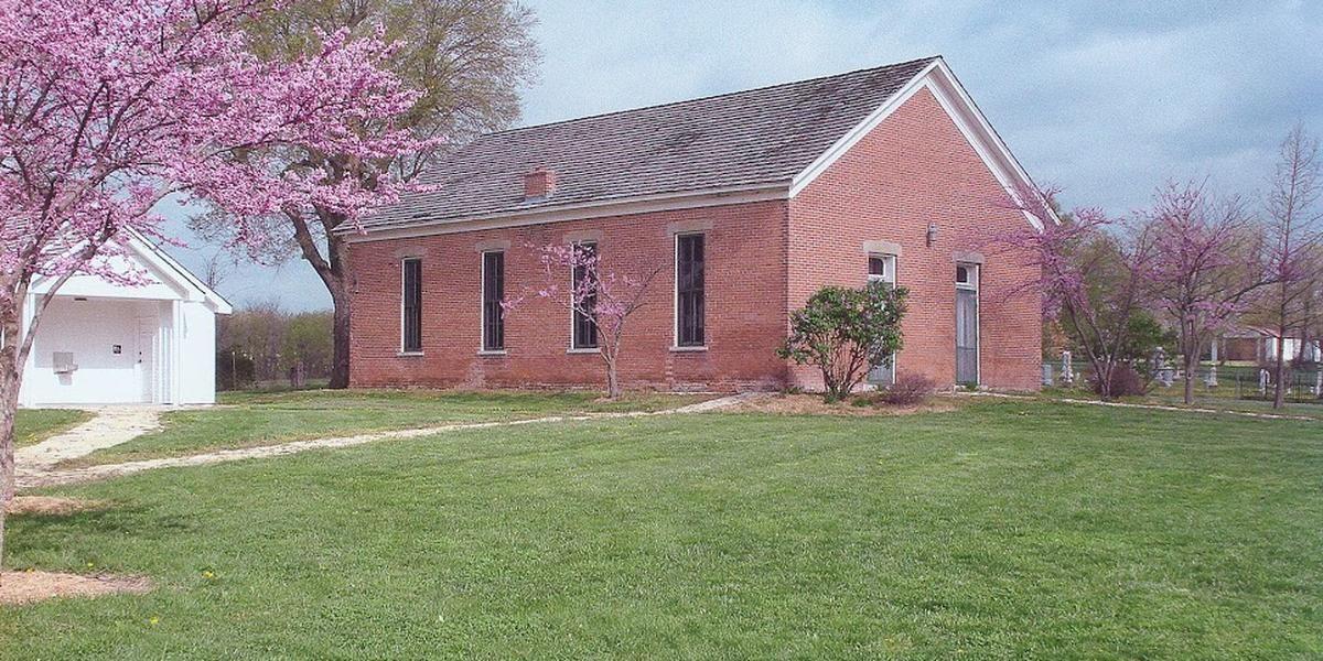 Historic Mt. Gilead Church wedding Kansas City