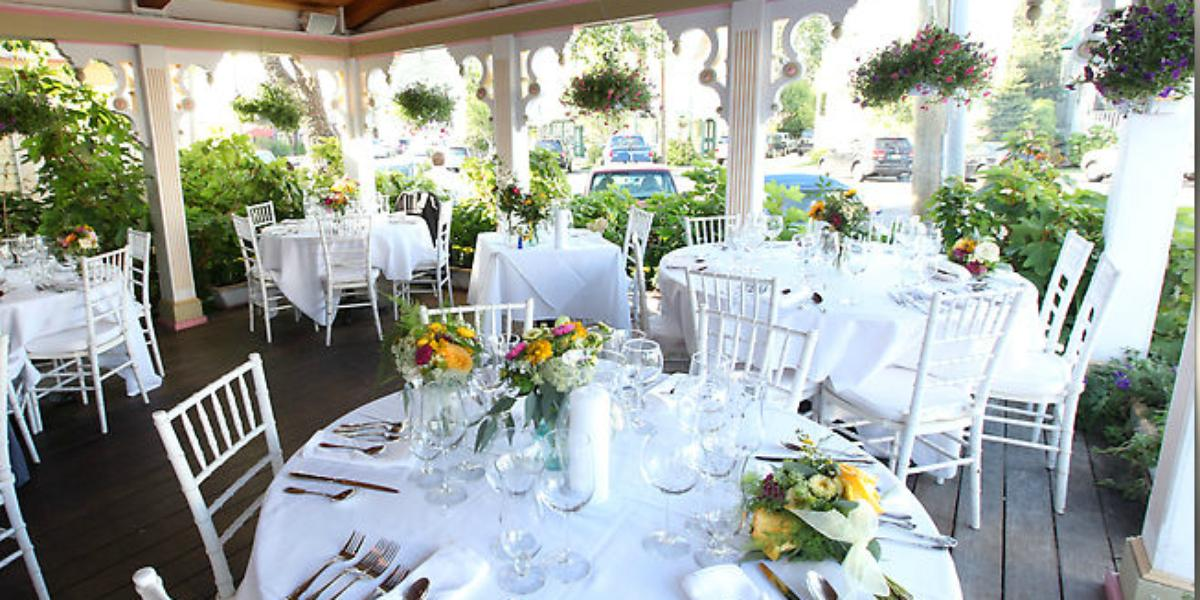 The Gables Historic Inn & Restaurant wedding Atlantic City