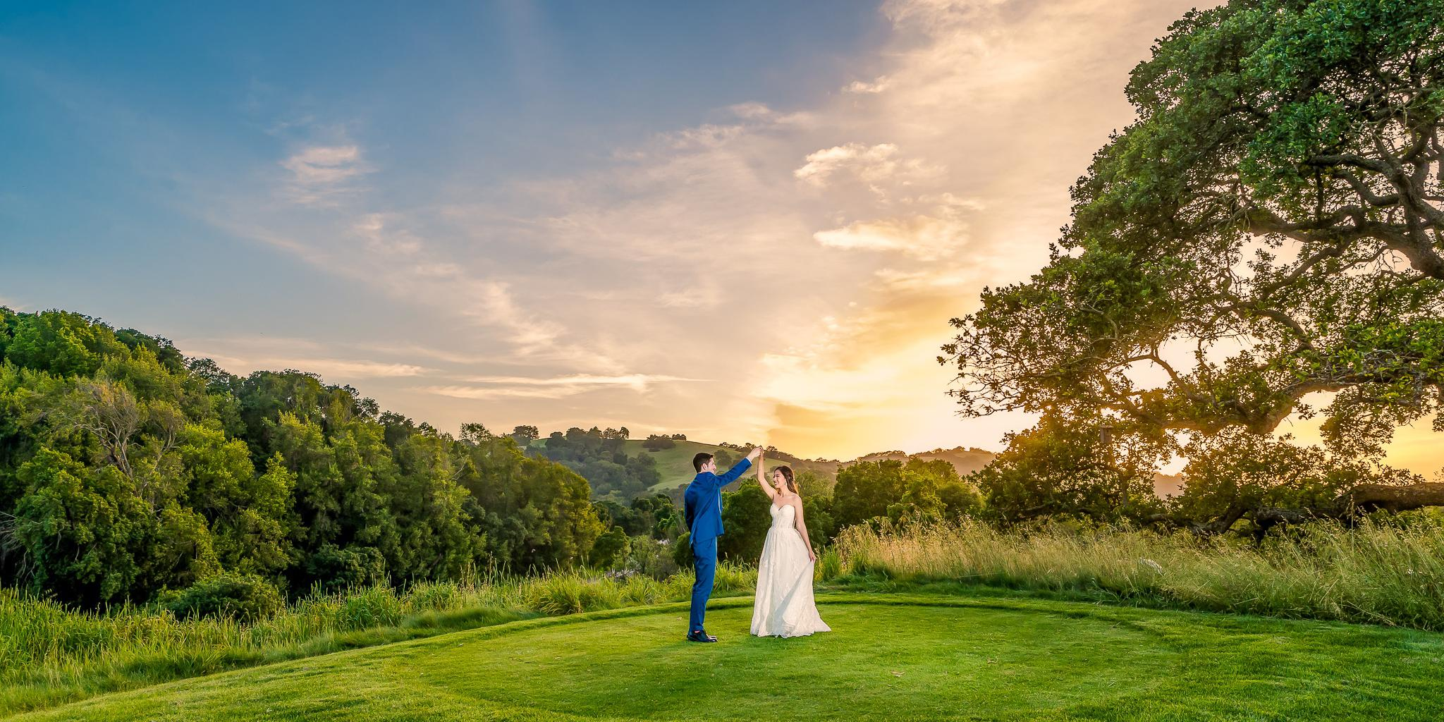 Cinnabar Hills Golf Club wedding South Bay