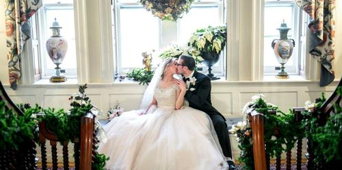 The Town and County Club wedding Hartford
