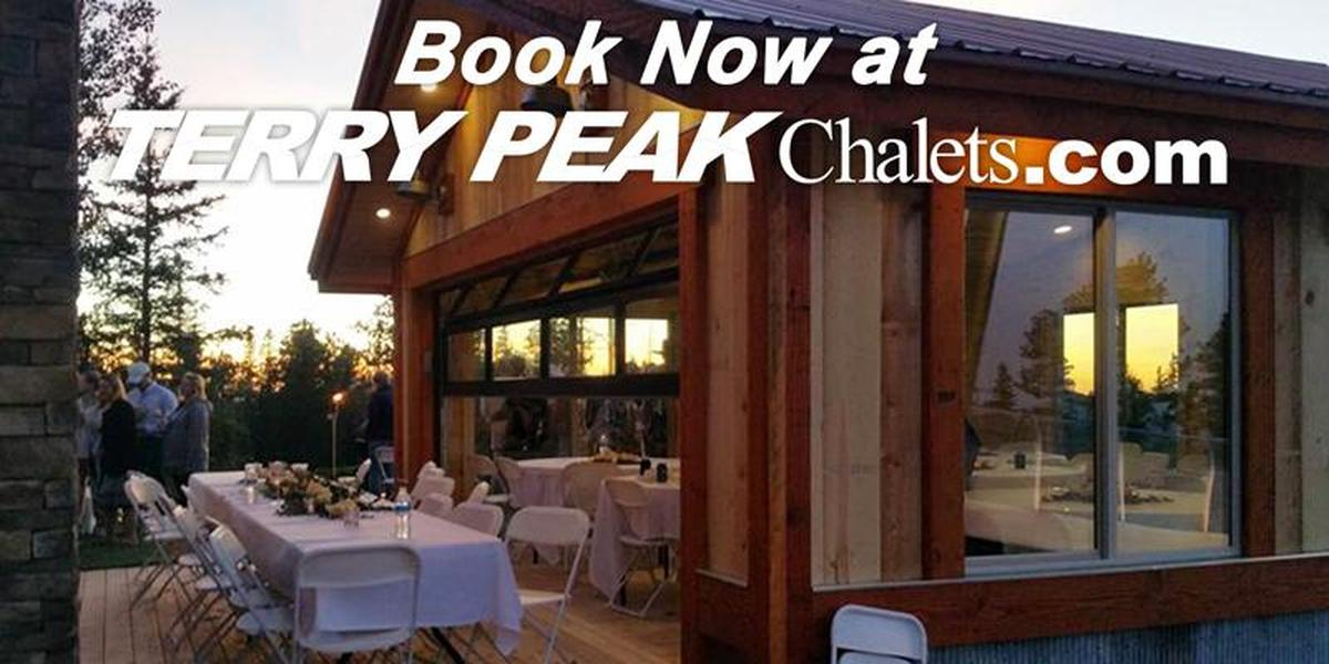 Terry Peak Chalets wedding South Dakota