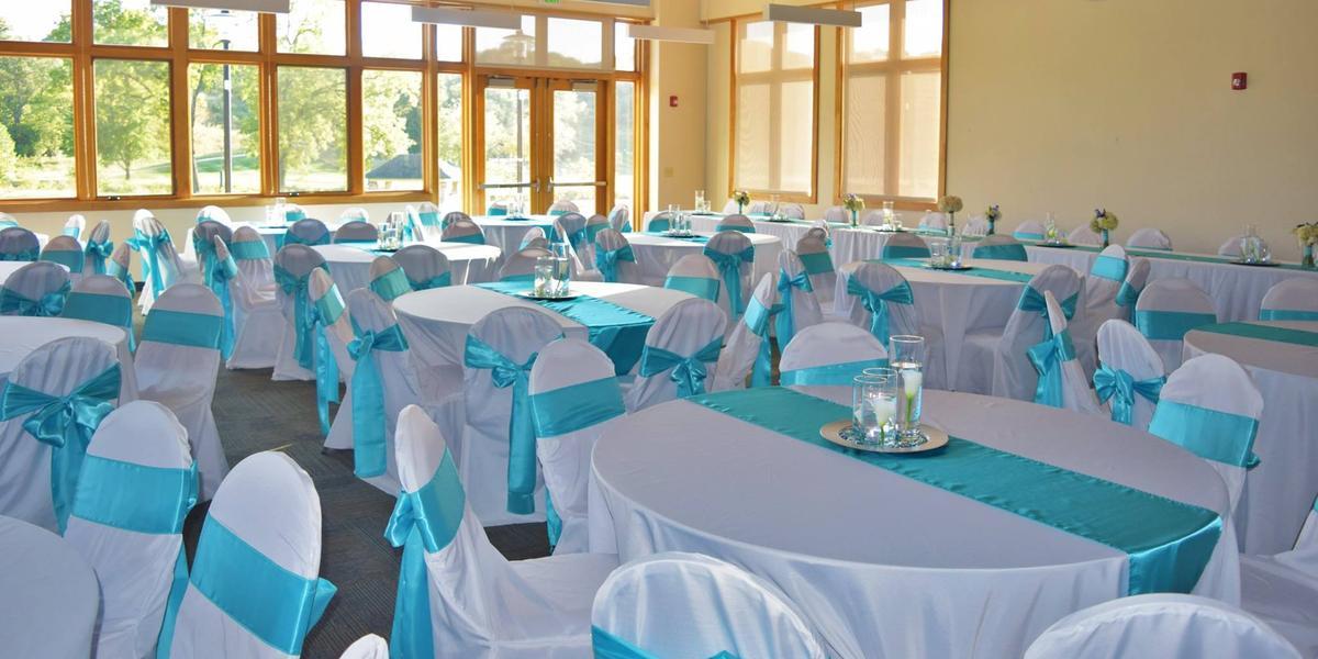 The Elmridge Room at Tomahawk Hills Golf Course wedding Kansas City