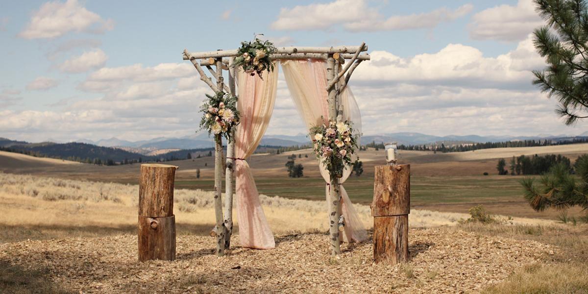 The Resort at Paws Up wedding Montana