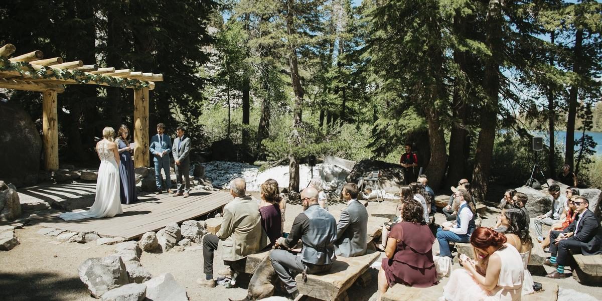Mammoth Mountain - Forest Chapel at Tamarack Lodge wedding Yosemite