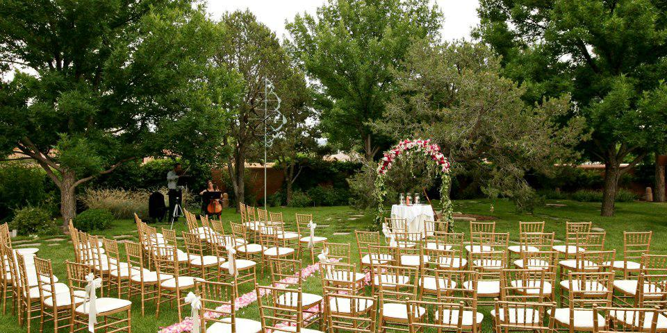 Inn and Spa at Loretto wedding New Mexico