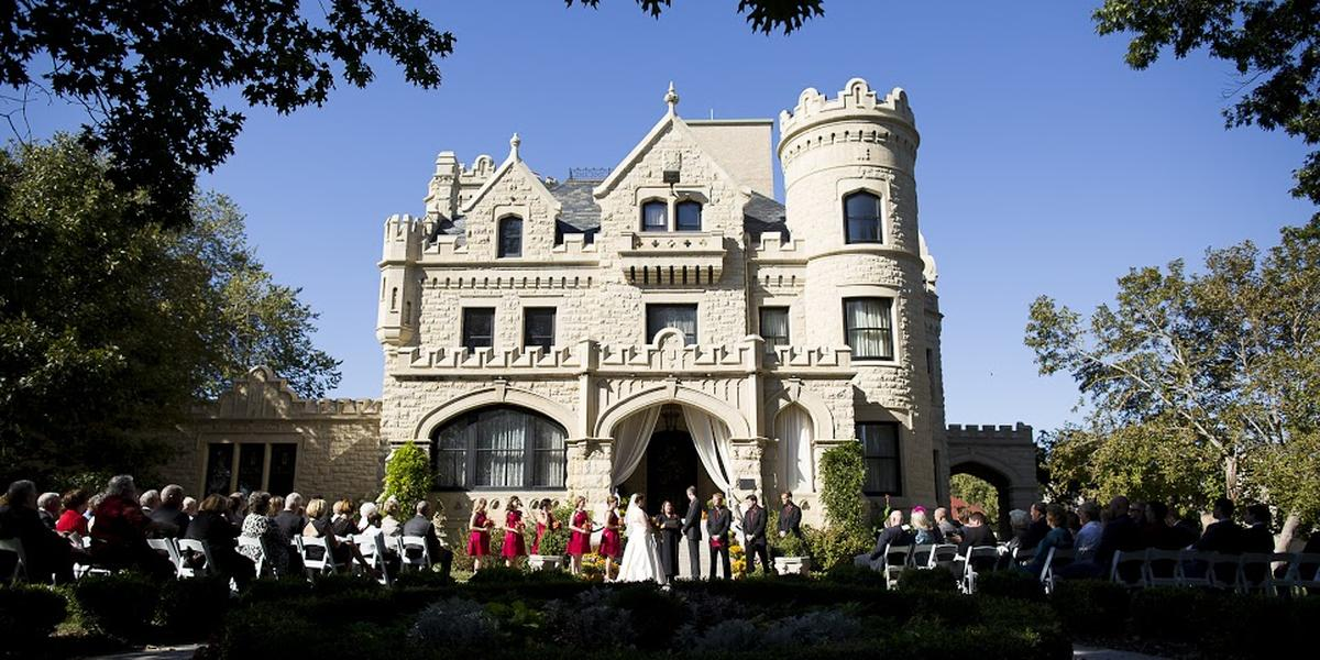 Joslyn Castle wedding Nebraska