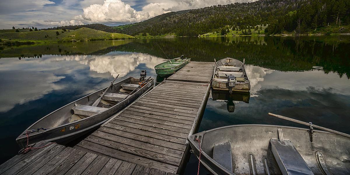 Elk Lake Resort wedding Montana