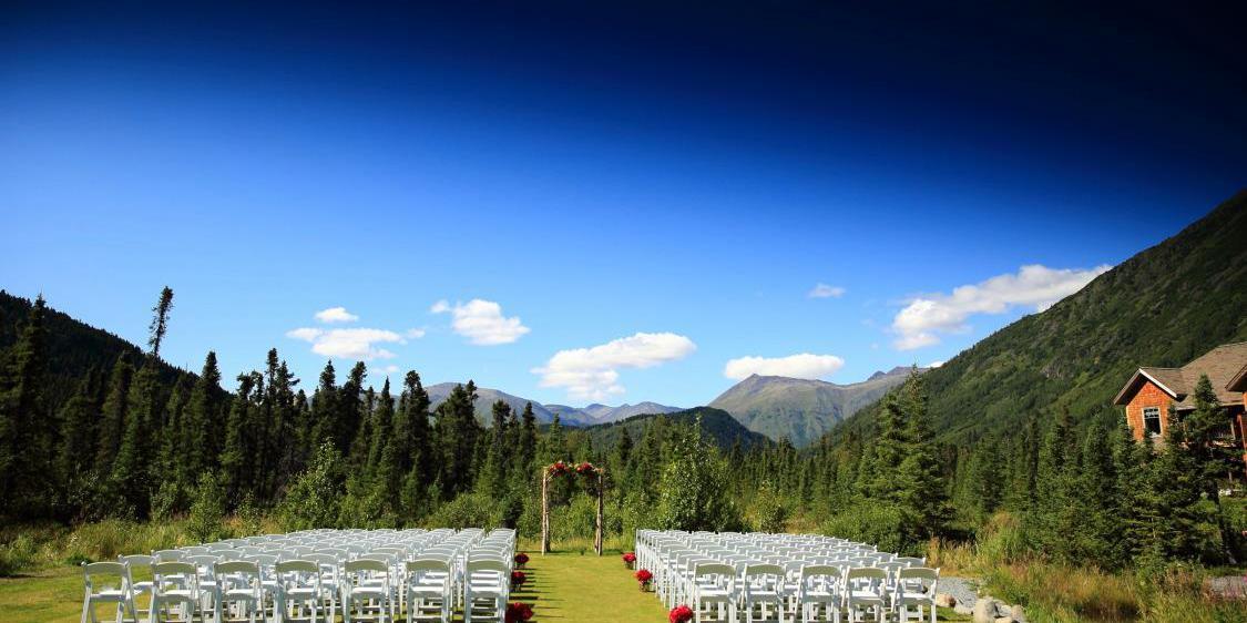 Inn at Tern Lake wedding Alaska
