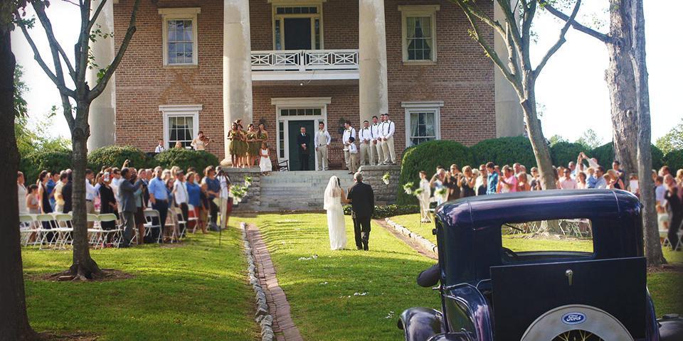 Gordon-Lee Mansion wedding Atlanta
