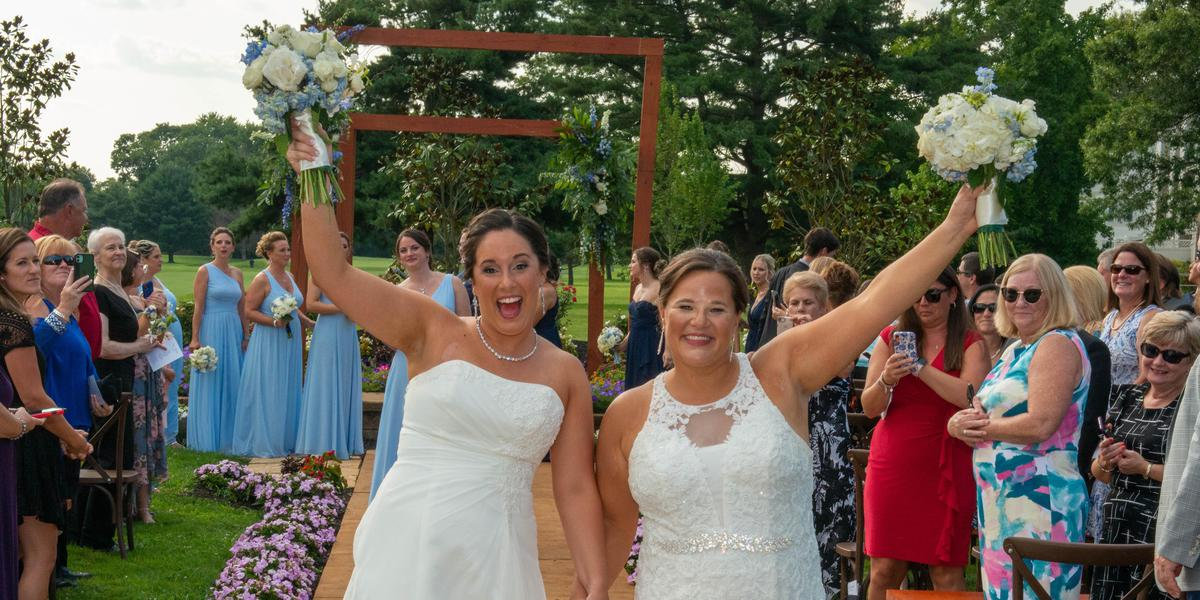 Ron Jaworski's Valleybrook Country Club wedding South Jersey