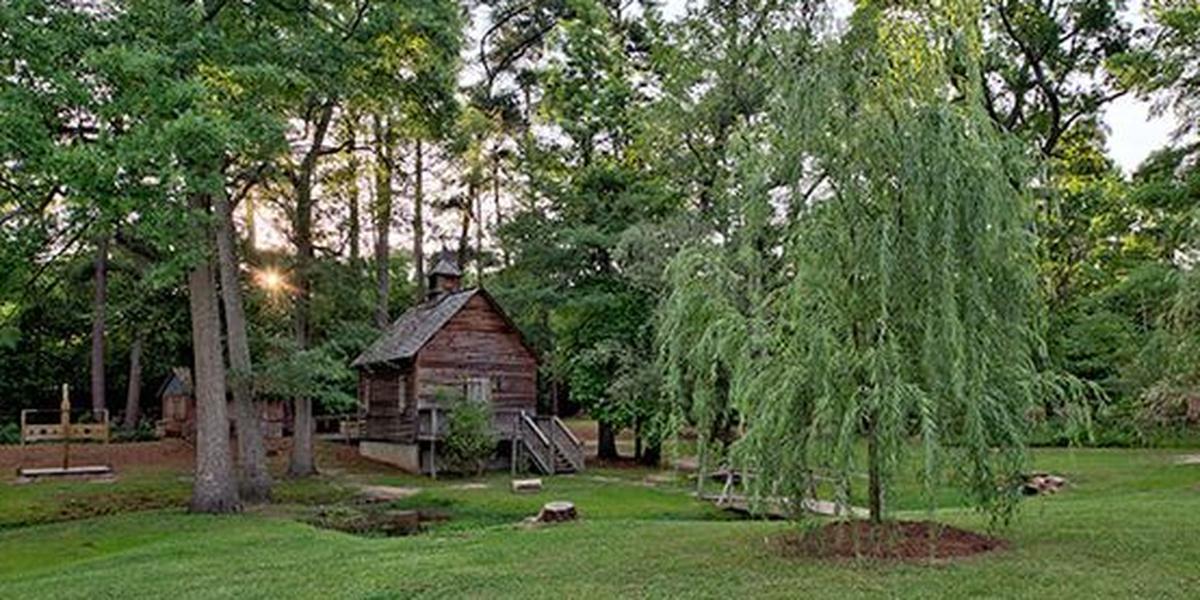 Living History Park wedding Columbia