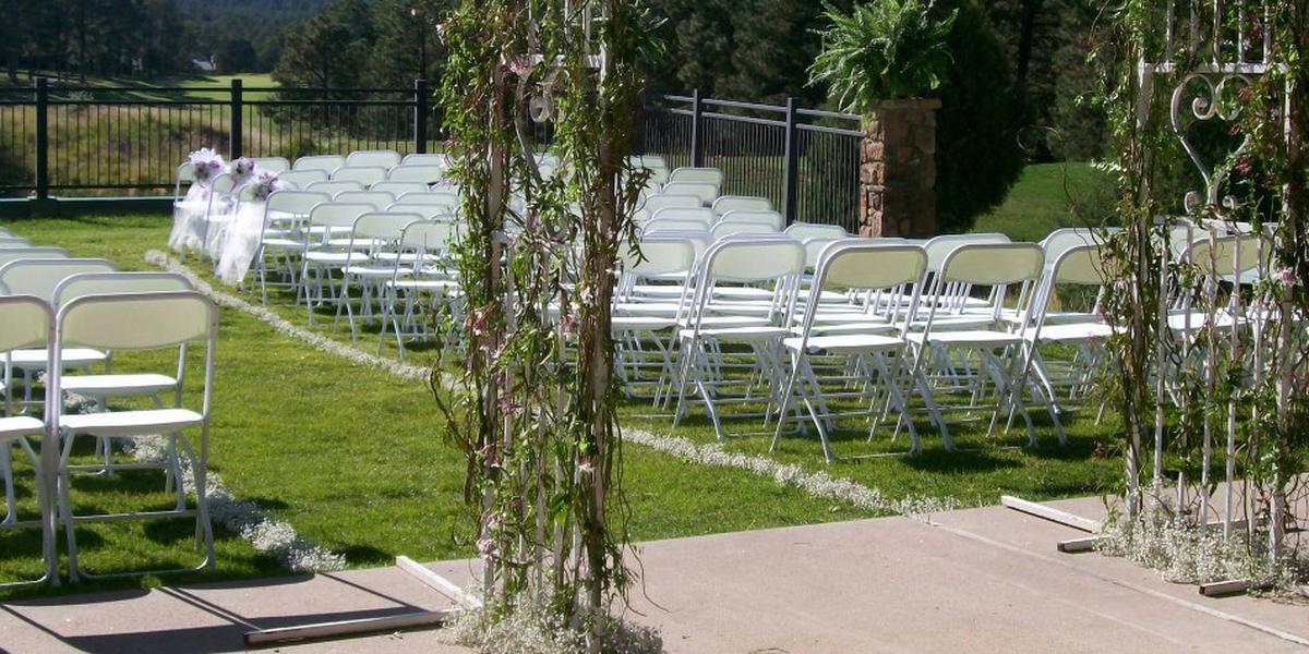 Alto Lakes Golf & Country Club wedding New Mexico