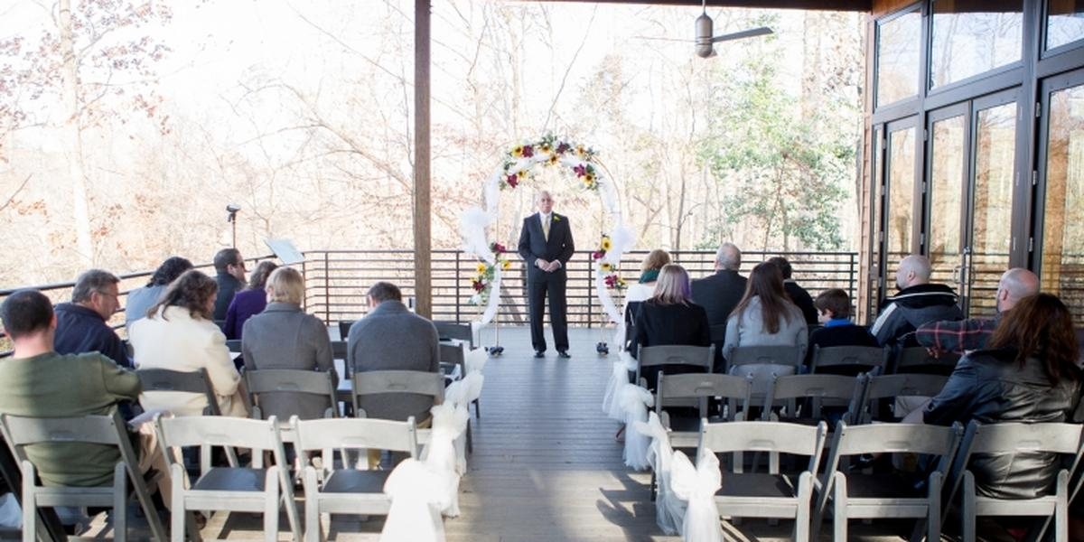 White Deer Park Nature Center wedding Raleigh/Triangle