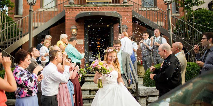Bluff View Art District wedding Chattanooga