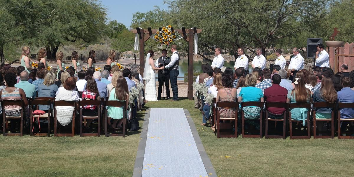 Rawhide Western Town & Event Center wedding Phoenix/Scottsdale