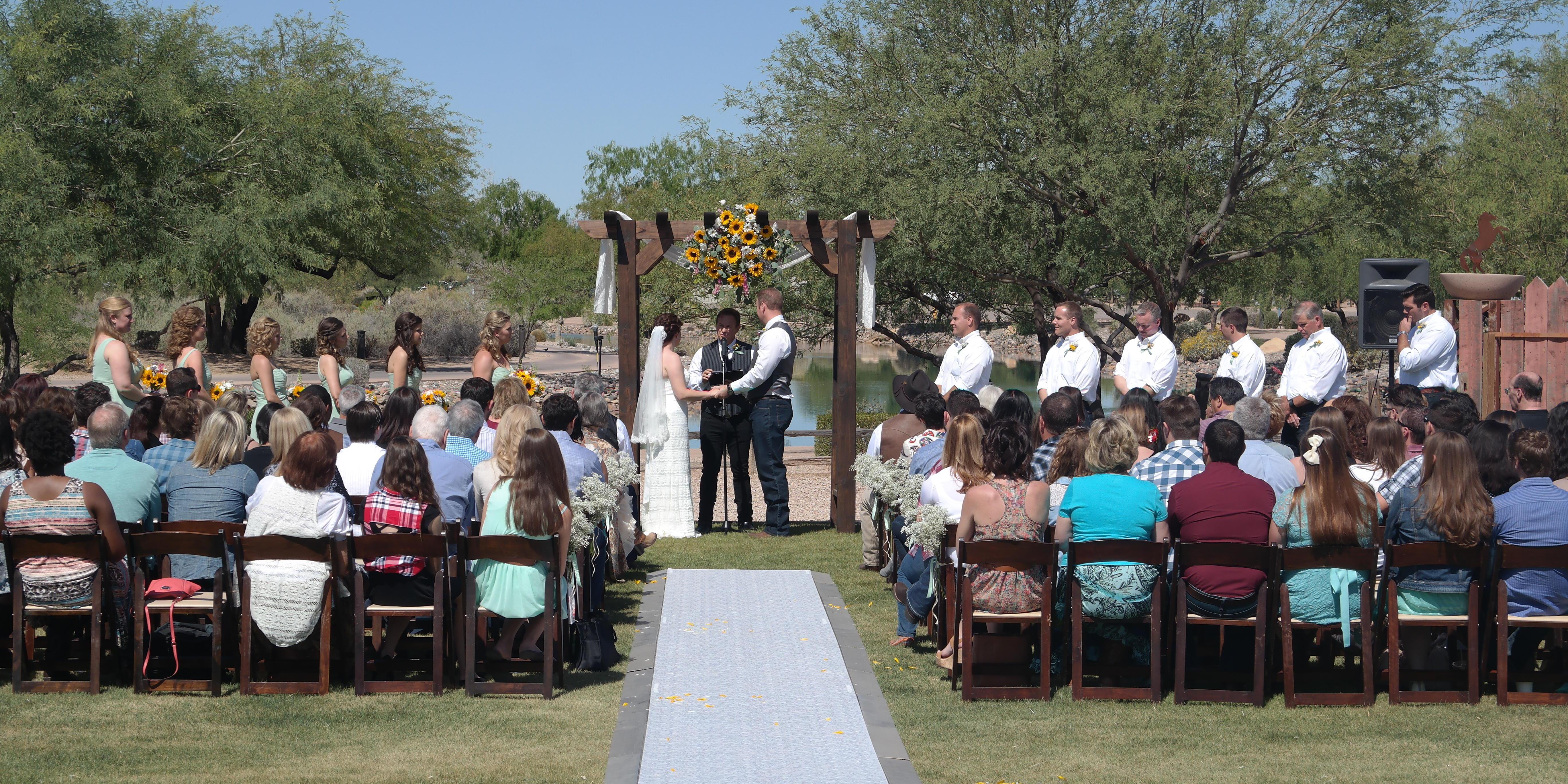 Rawhide Western Town & Event Center wedding Phoenix/Scottsdale