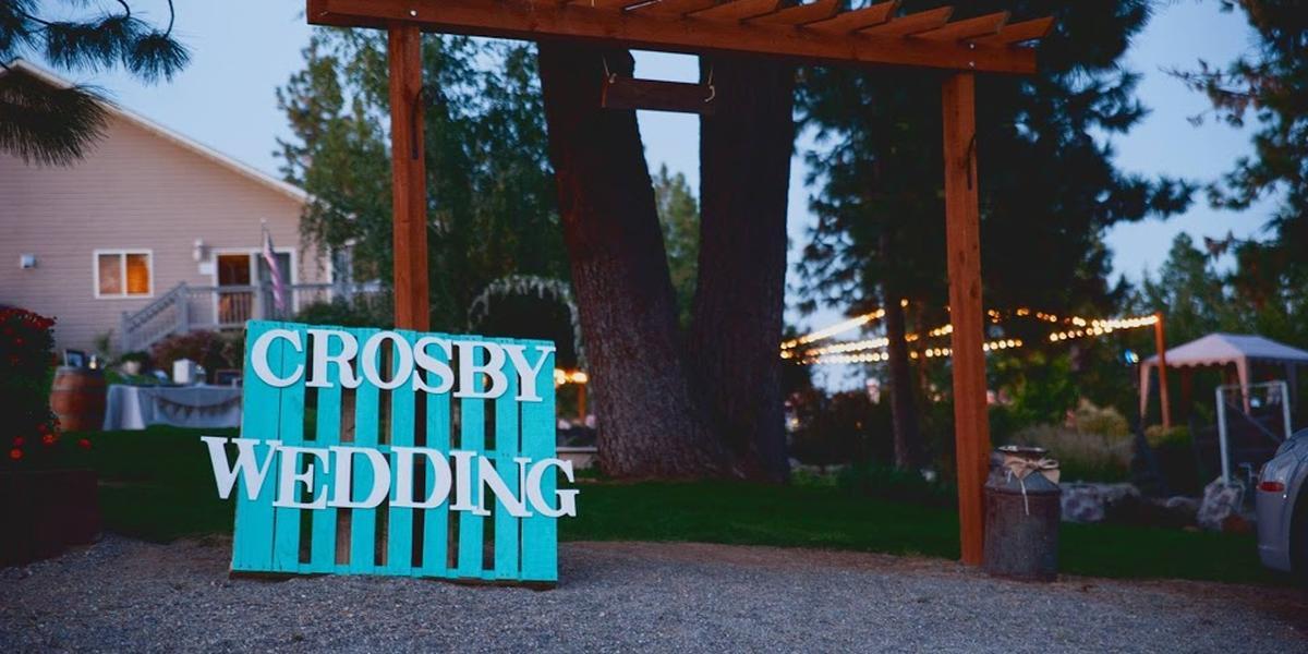Denison Ridge wedding Spokane