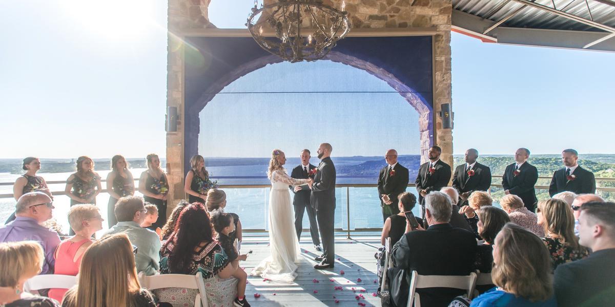 The Oasis on Lake Travis wedding Austin