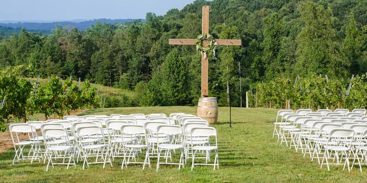 Engelheim Vineyards wedding Atlanta