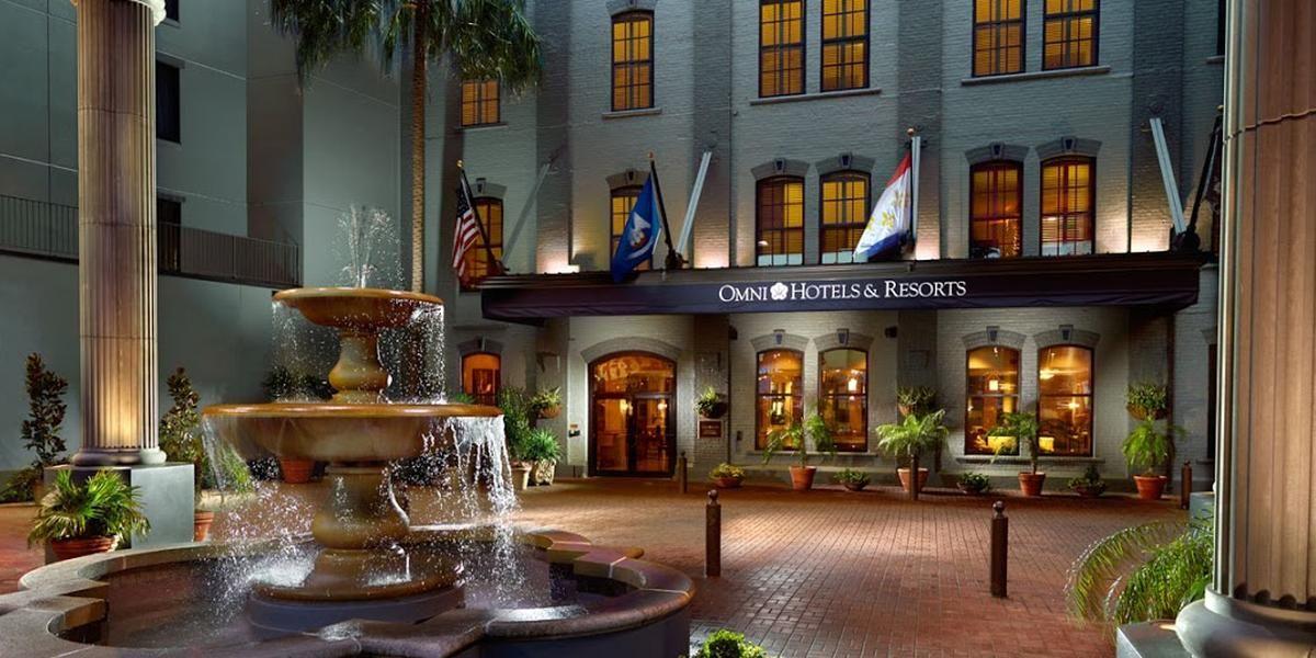 Omni Riverfront Hotel wedding New Orleans