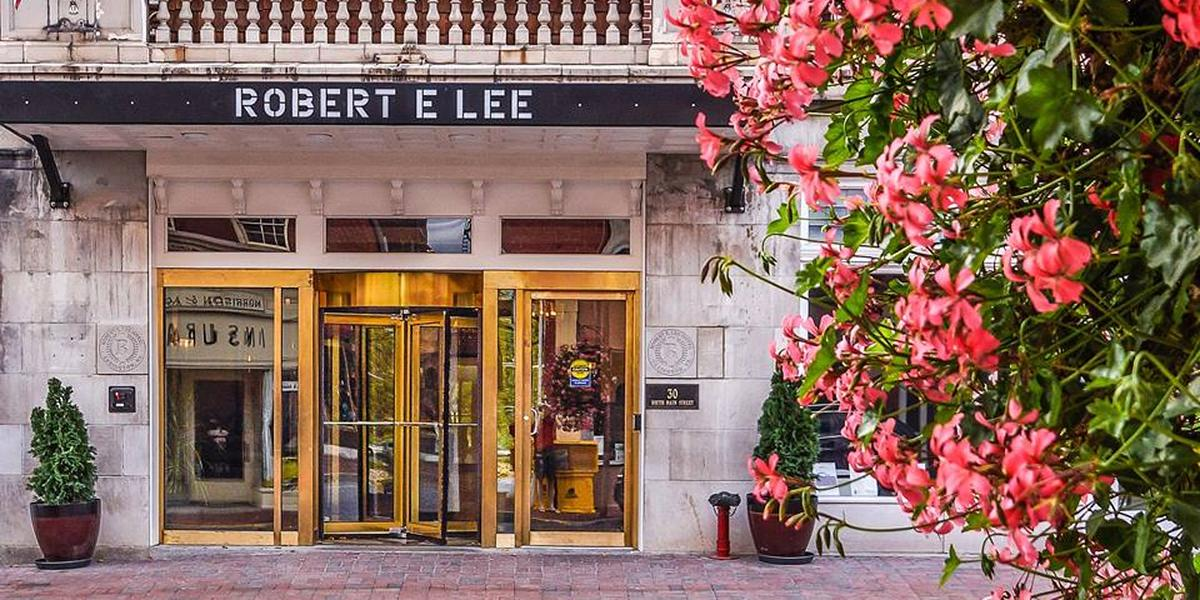 Robert E. Lee Hotel wedding Lexington