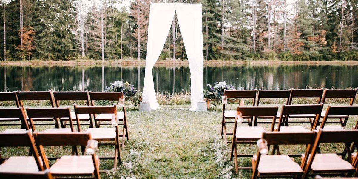 Blue Heron Lake wedding Cleveland
