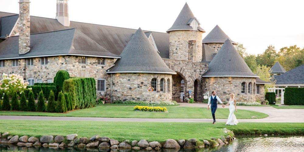 Castle Farms wedding Traverse City
