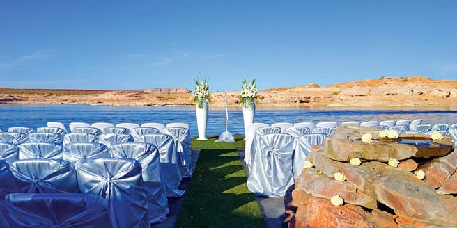 Antelope Point Marina wedding Sedona/Flagstaff