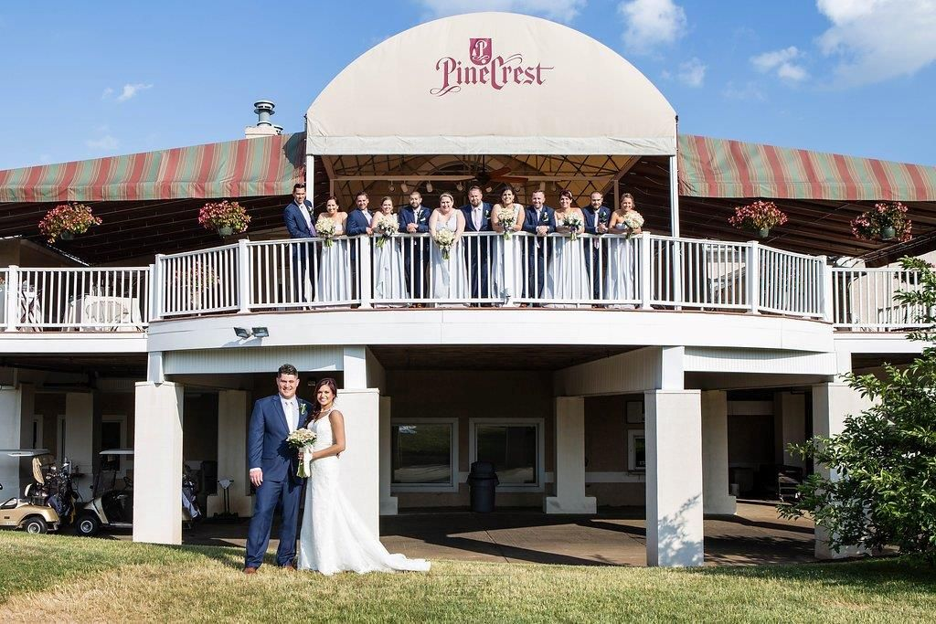 PineCrest Country Club wedding Philadelphia
