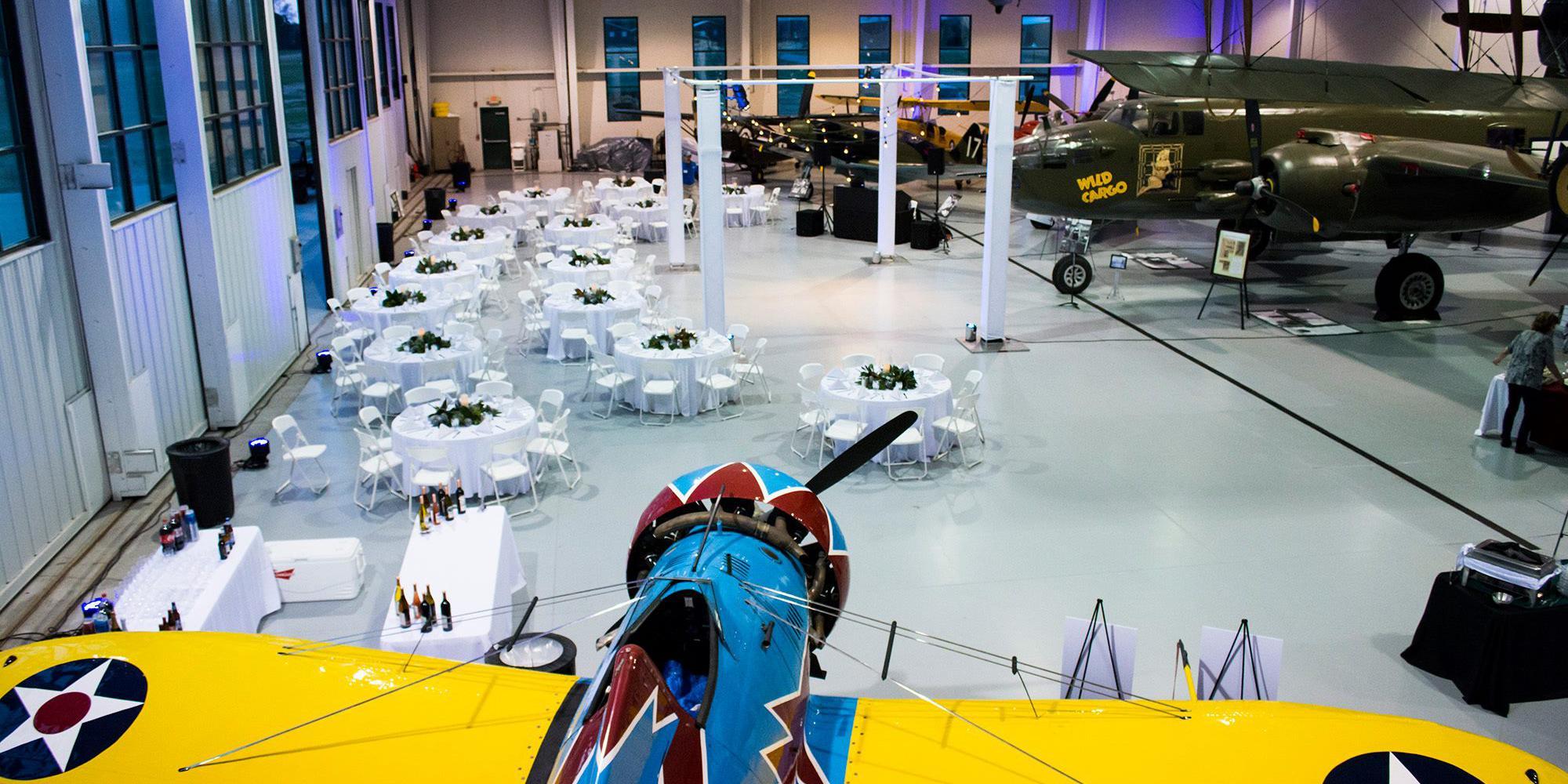 Military Aviation Museum wedding Virginia Beach