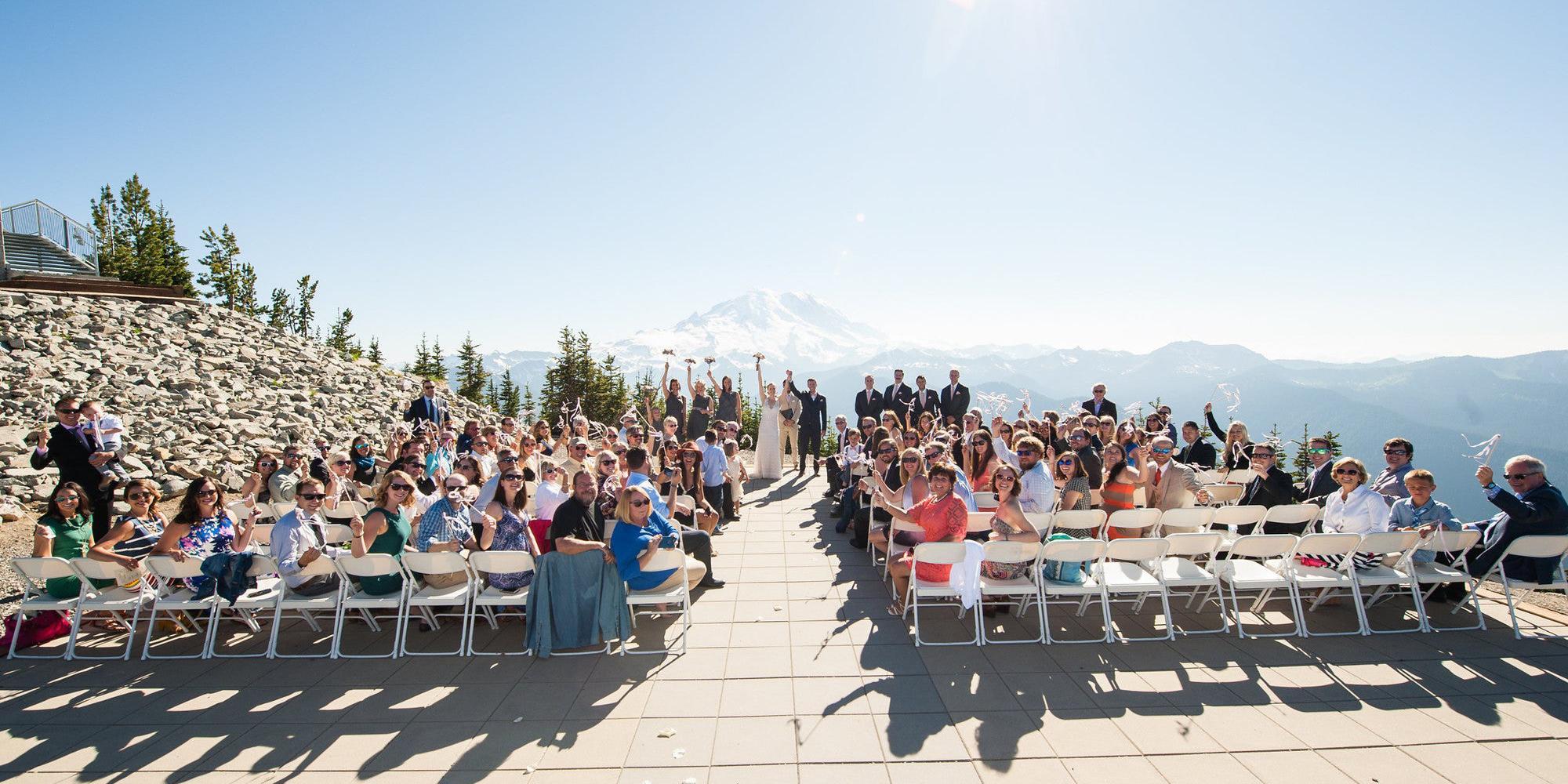 Crystal Mountain Resort wedding Seattle