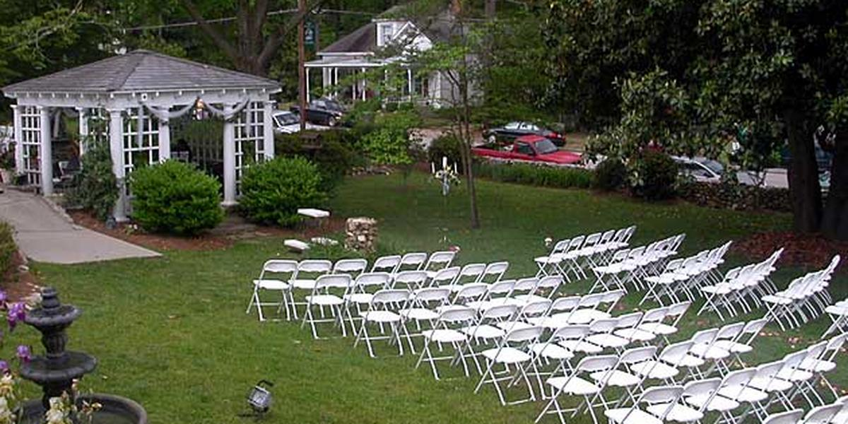 Fuquay Mineral Spring Inn & Garden wedding Raleigh/Triangle