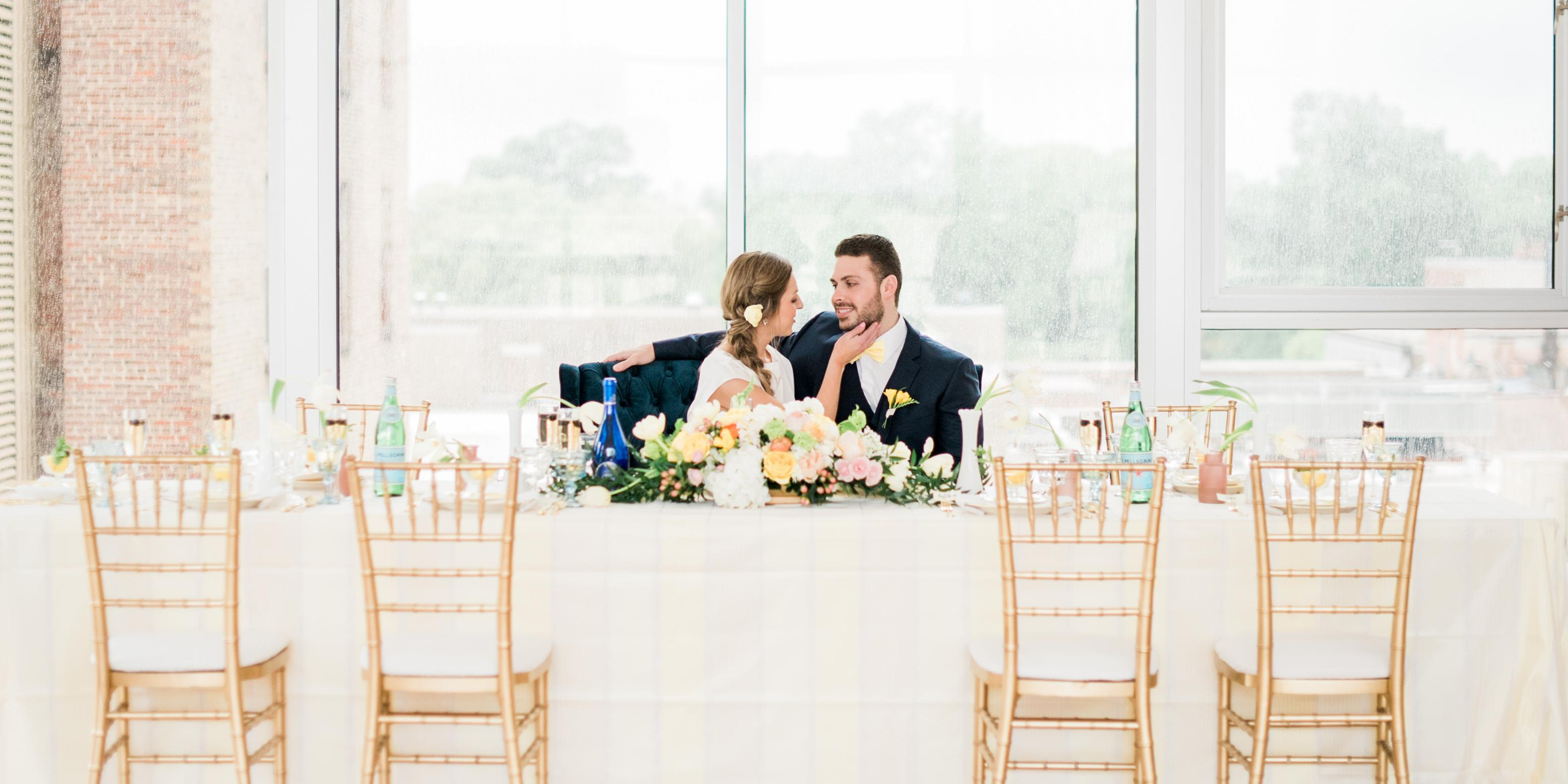 The Glass Box wedding Raleigh/Triangle