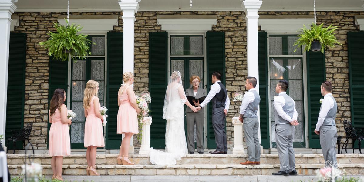 Oakland House Museum wedding St. Louis