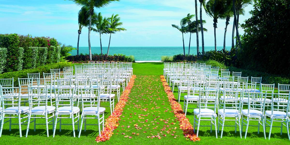 The Ritz-Carlton Key Biscane wedding Miami