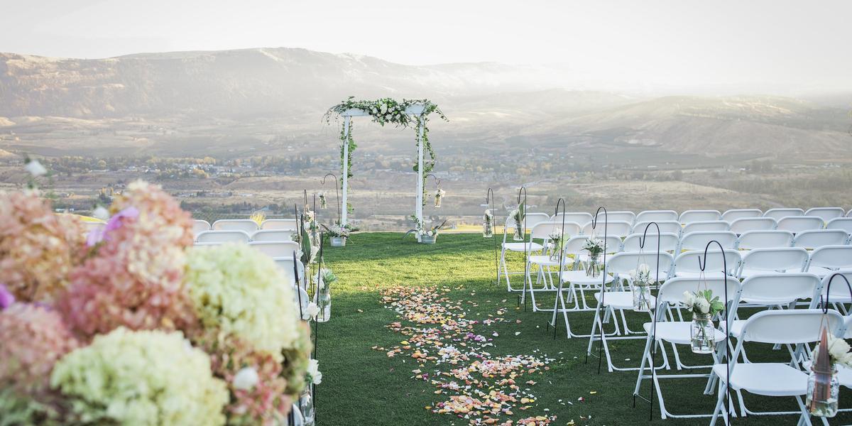 Highlander Golf Course wedding Yakima