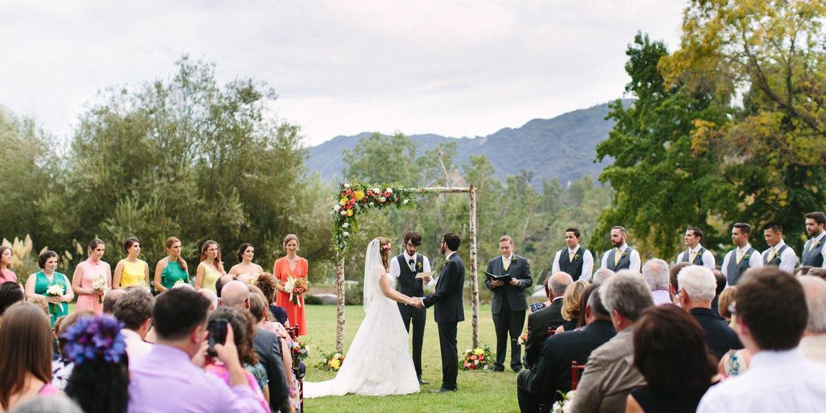 The Lodge at Malibou Lake wedding Los Angeles