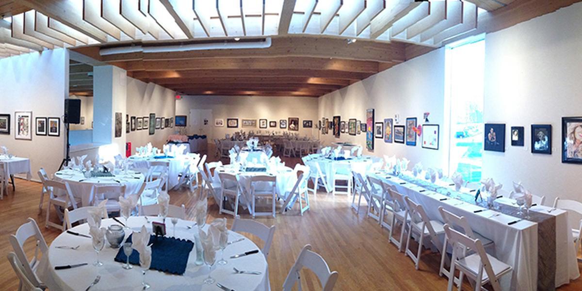 Mansfield Art Center wedding Columbus