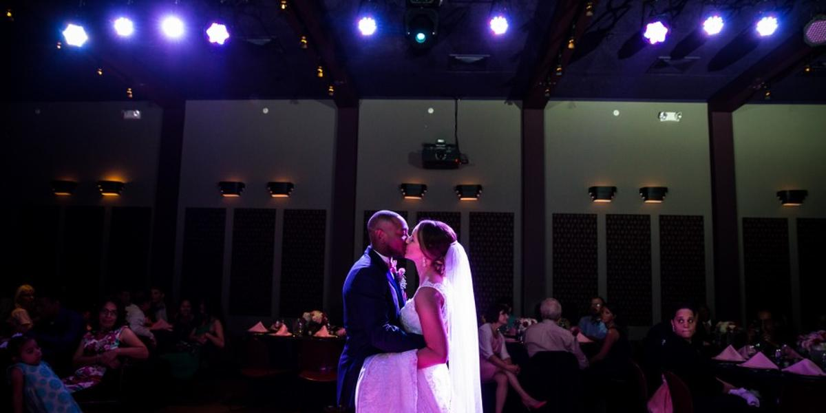 Bright Box Theater wedding Northern Virginia