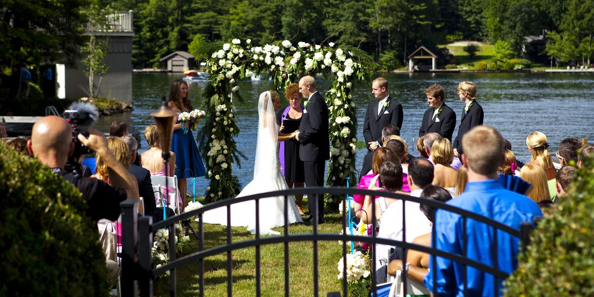 Lake Toxaway Country Club wedding Asheville