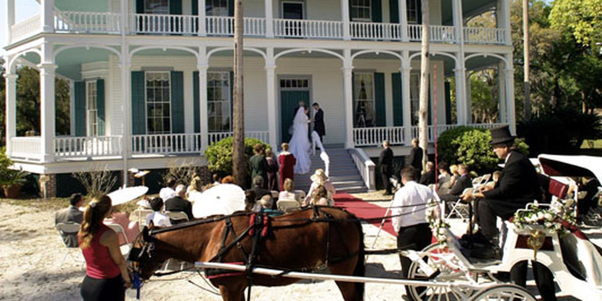 Debary Hall Historic Site wedding Orlando
