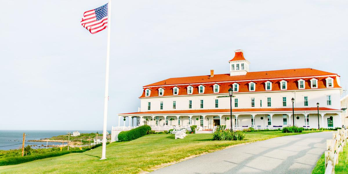 Spring House Hotel wedding Coastal Rhode Island