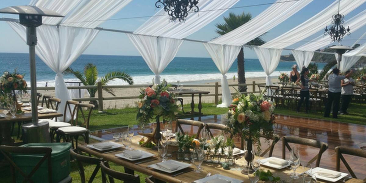 Romantic Beachside Park wedding Orange County