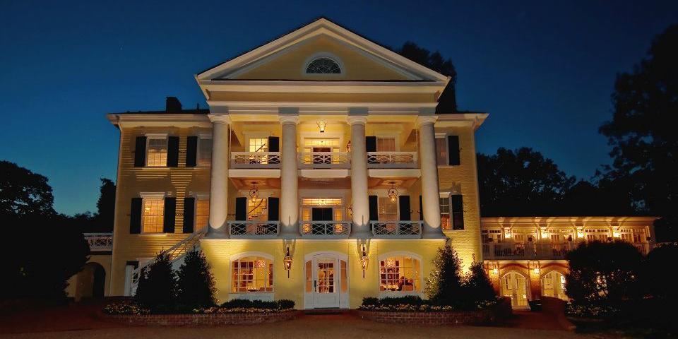 The Inn at Willow Grove wedding Charlottesville