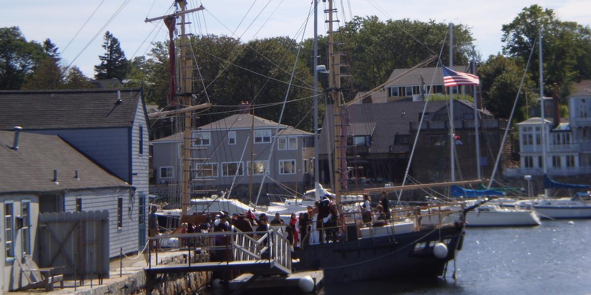 The Pirate Ship Formidable wedding Boston