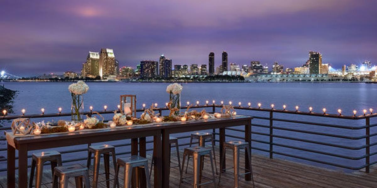 Coronado Island Marriott Resort & Spa wedding San Diego