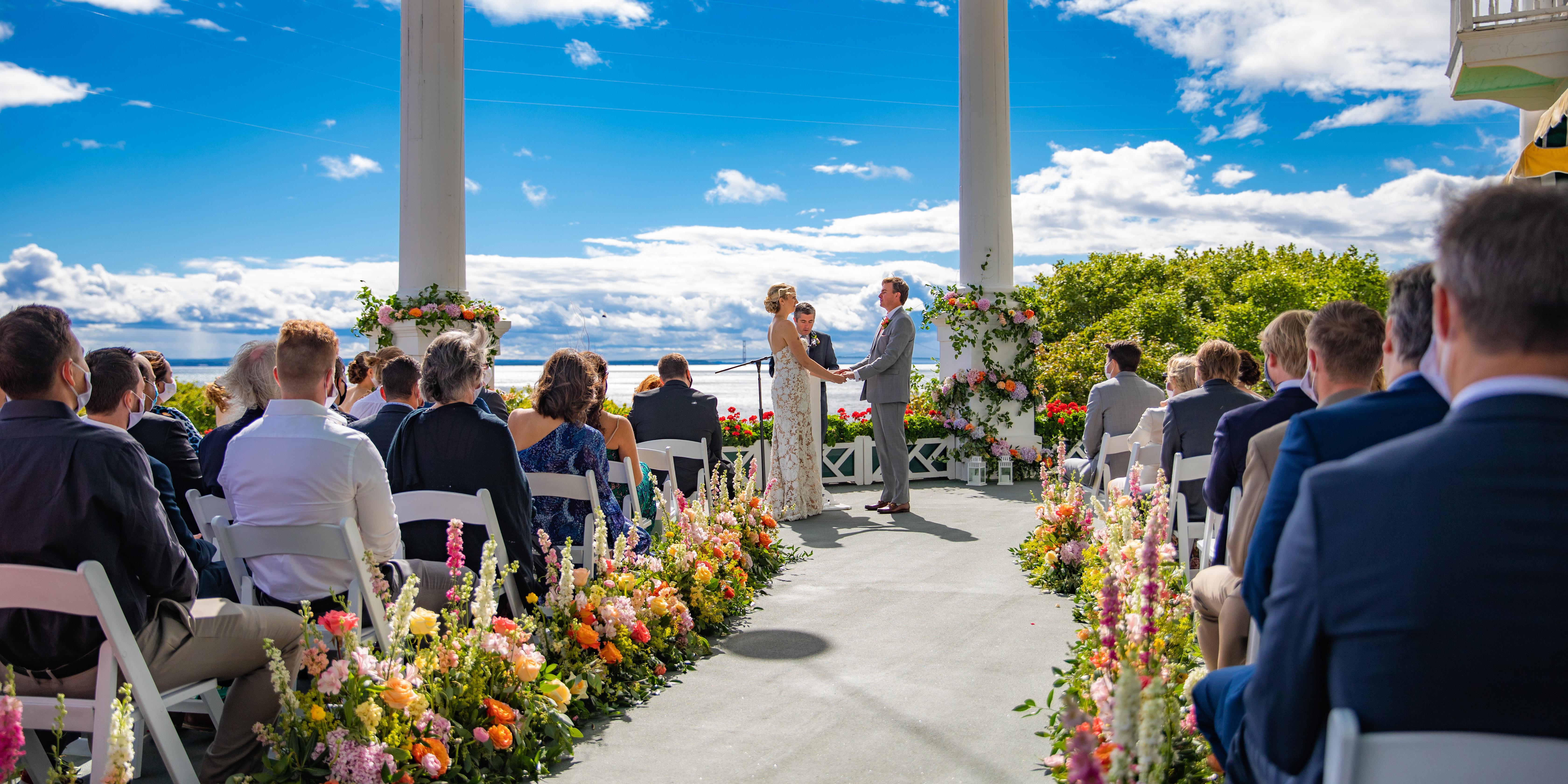 Grand Hotel Mackinac Island wedding Mackinac Island
